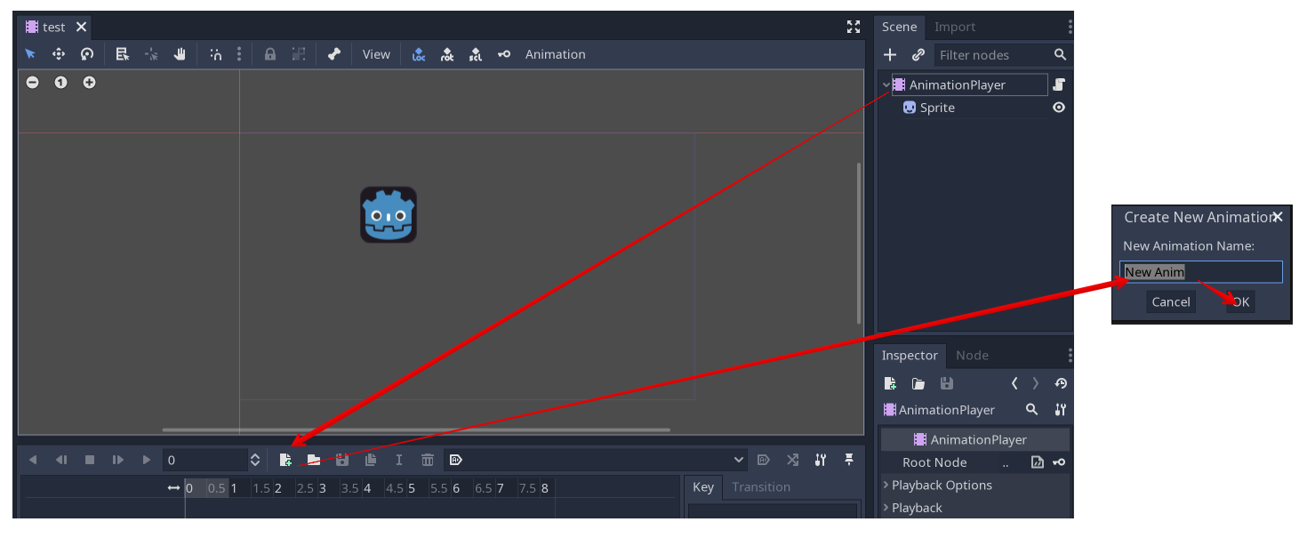 Introduction to the 2D animation features — Godot Engine latest