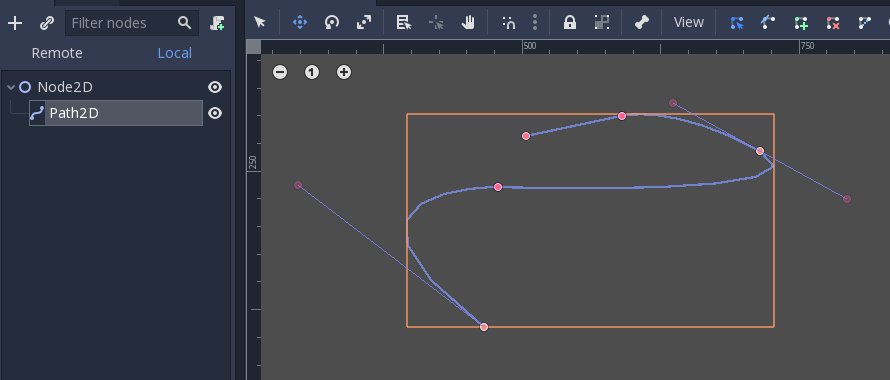 Unity Draw Curve Through Points