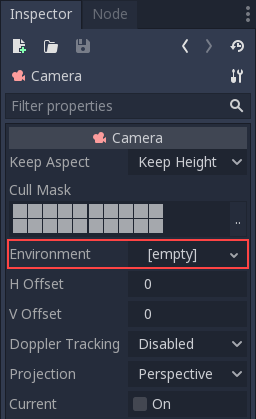 Environment and post-processing — Godot Engine latest
