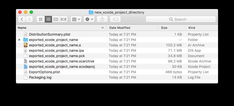 Exporting for iOS — Godot Engine latest documentation