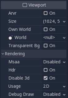 Using a Viewport as a texture — Godot Engine latest documentation