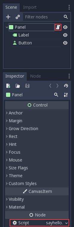 Scripting — Godot Engine latest documentation