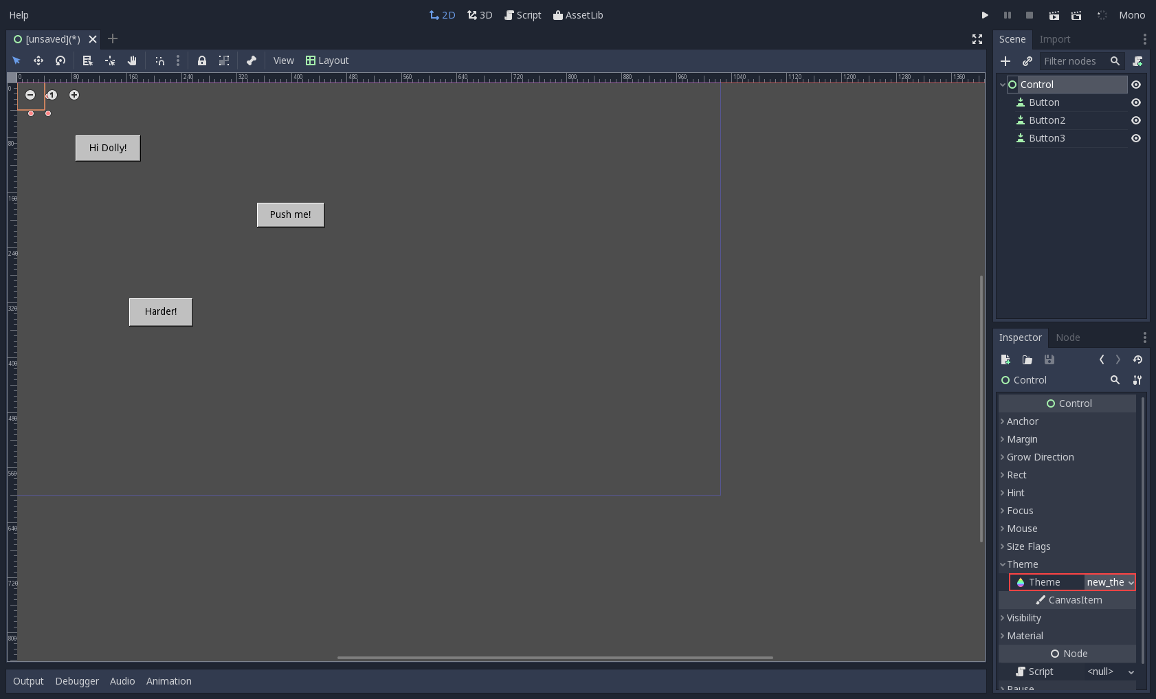 GUI skinning — Godot Engine latest documentation