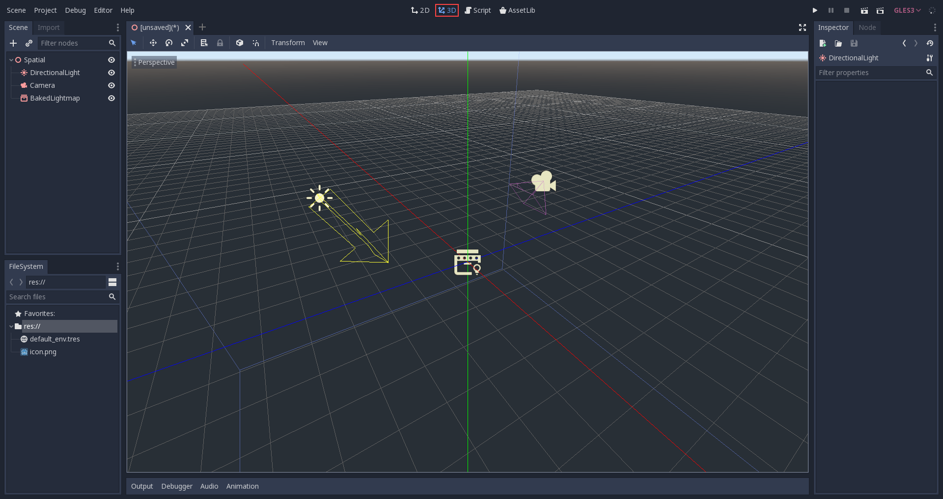 Introduction to 3D — Godot Engine latest documentation