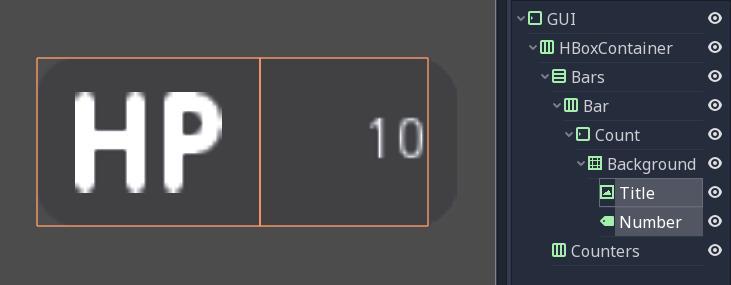 Design the GUI — Godot Engine latest documentation