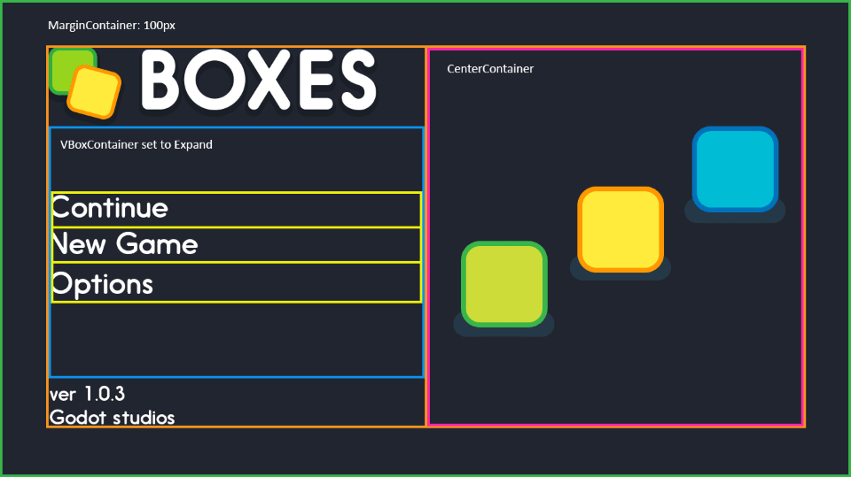 Design a title screen — Godot Engine latest documentation