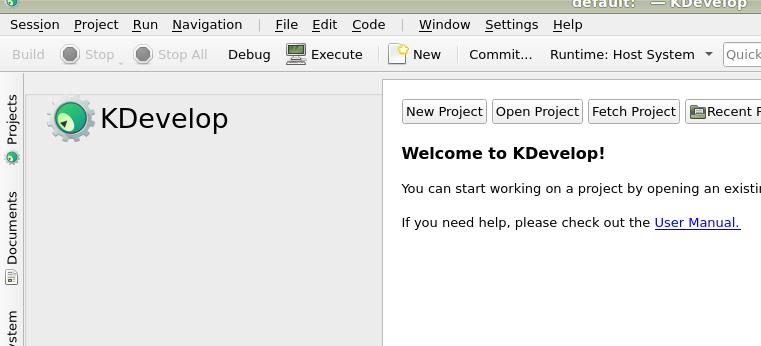 KDevelop — Documentación de Godot Engine (stable) en español