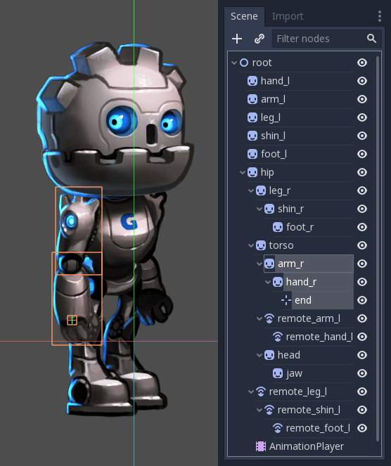 How to rig a 2d character in blender for cut-out animation or.
